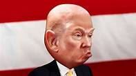 Image result for donald trump bald