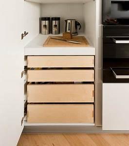 Küchenschrank Mit Schubladen : k chenunterschr nke 11 praktische schubladen typen ~ A.2002-acura-tl-radio.info Haus und Dekorationen