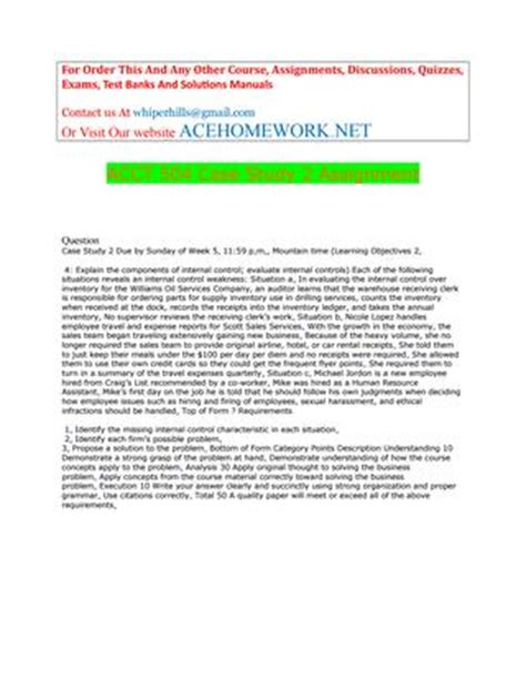 acct  case study  assignment  acehomenet issuu