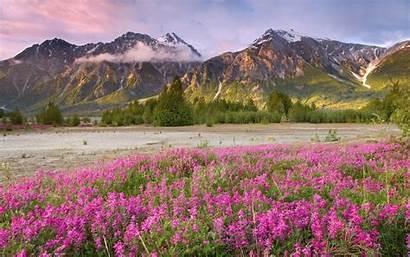 Spring Desktop Scenes Mountain Mountains Wallpapertag
