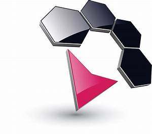 6 3d vector graphics icon Free Vector / 4Vector