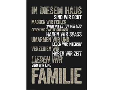Poster In Diesem Haus 61x91,5 Cm Bei Hornbach Kaufen