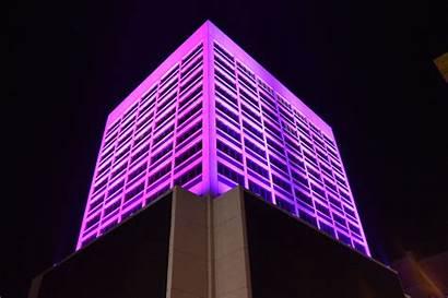 Lighting Corridor Facade Innovative Connective Buildings Illuminated