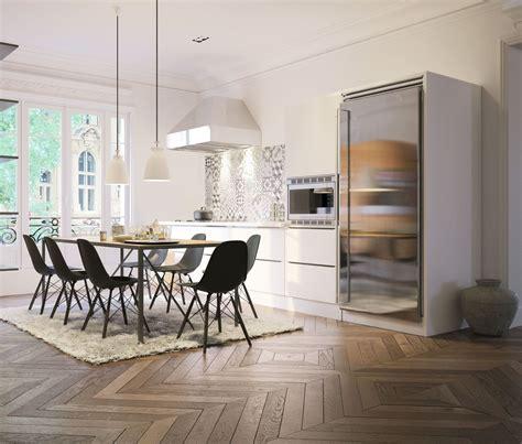 stratifi dans cuisine parquet dans cuisine cuisine et bois en 42 ides