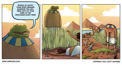 Ancient Egyptian Crocodile Worship God