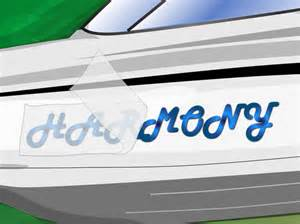 Boat Registration by Custom Vinyl Boat Lettering And Boat Registration Numbers
