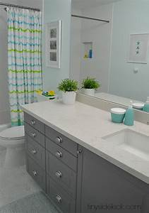 modern coastal bathroom sources With what kind of paint to use on kitchen cabinets for kid wall art