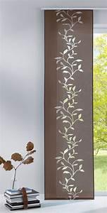 Flächenvorhang 80 Cm Breit : fl chenvorhang schiebegardine mit klettband ausbrenner stoff 856100 ebay ~ Buech-reservation.com Haus und Dekorationen