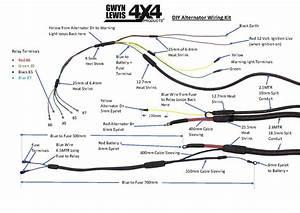 Hd Second    Twin Alternator Wiring Kit  U2013 Diy  Gl1153  U2013 Gwynlewis4x4 Co Uk