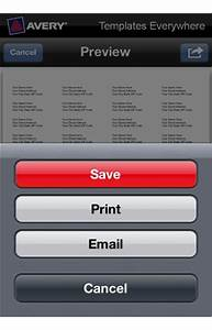 how to email a project in the avery templates everywhere app With avery label app