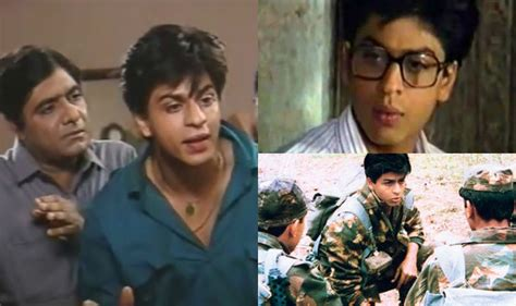 ist verbraucherritter seriös circus fauji wagle ki duniya and 5 other tv serials that shah rukh khan did before he became