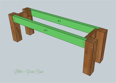 Pottery Barn Inspired Diy Dining Bench Plans Kitchen Pantry Hutch Crown Molding How To Build Outdoor Cabinets Stone Backsplash For Remodeling Jacksonville Fl Cabinet Ideas Discount Kitchens Commercial Walls
