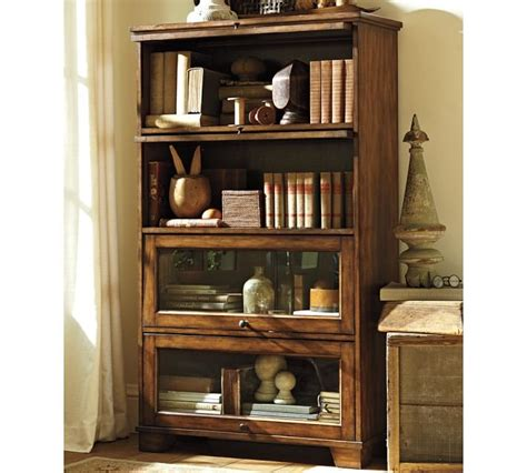 It's Part Bookcase, Part Display Case The Pottery Barn