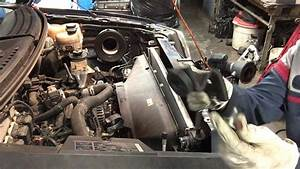 Ford F Transmission Cooler Line Repment Youtube 1999 150
