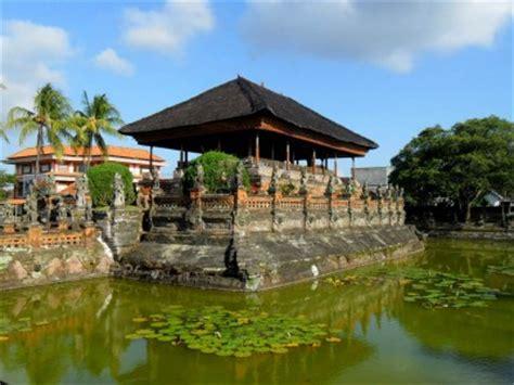 bali tourism board tourist objects palaces  bali