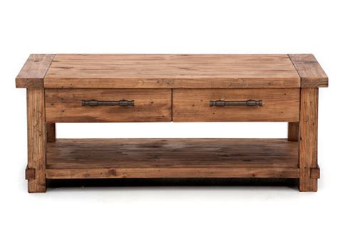 Industrial Coffee Table  Super Amart