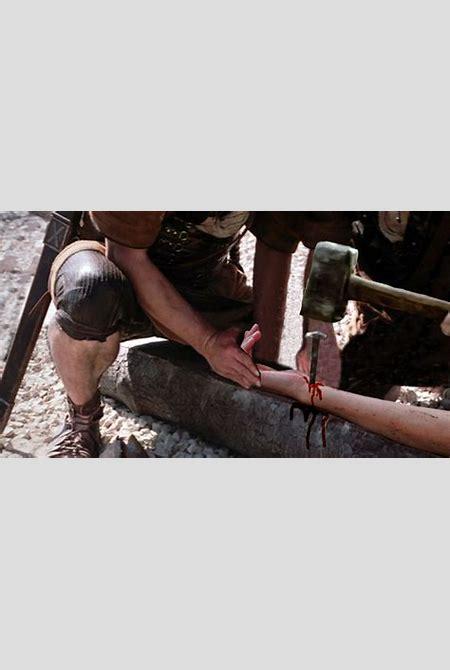 crucified; woman put to the cross 10 - PornHugo.Com
