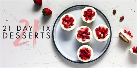 21 Day Fix Approved Desserts Nikki Kuban Minton