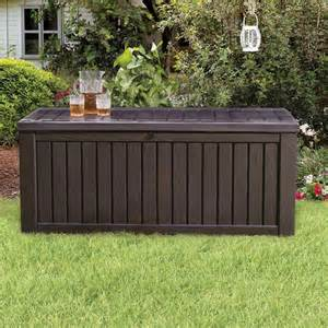 keter 214301 rockwood 150 gal deck box