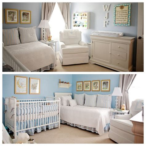 Image Result For Nursery Layout With Twin Bed Baby
