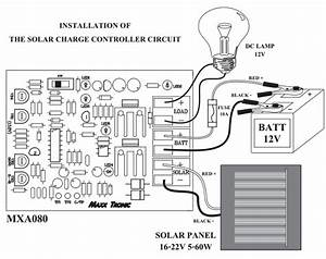 solar charge controller qkits electronics store kingston With solar charge controller wiring
