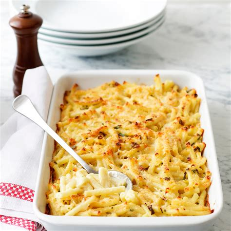 cuisiner pour pas cher gratin de pâtes facile et pas cher recette sur cuisine