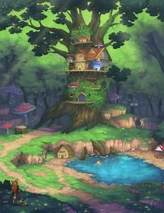 Forest Kingdom by Flipsi on DeviantArt