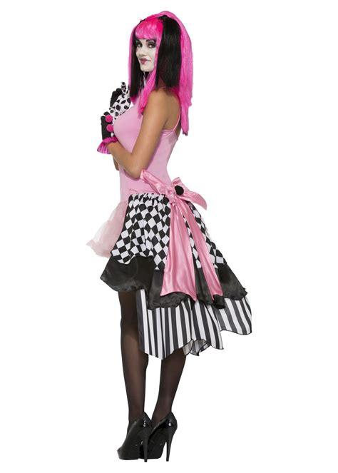 harlequin clown bustle petticoat accessories