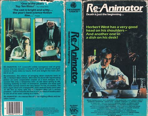 vhs animator re 1985 scan covers remember film
