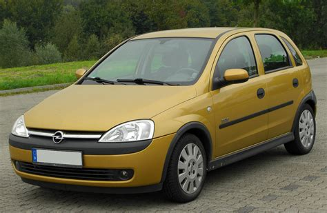 vauxhall corsa 2002 opel corsa 1 4 2002 auto images and specification