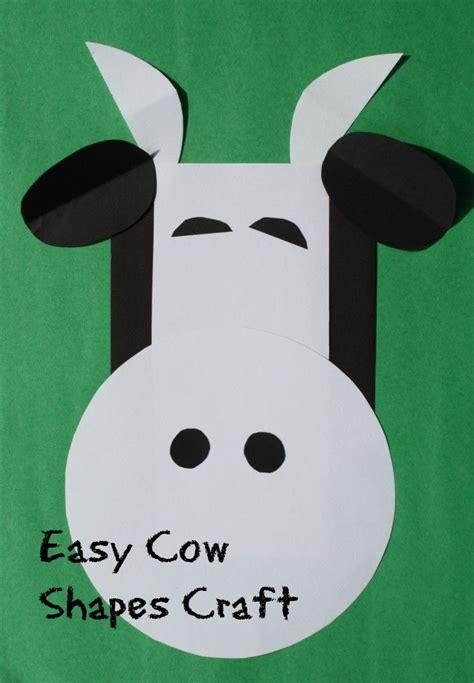 c is for cow shapes craft shape crafts farm theme and cow 113 | 07f67708970a6252b5b61c05cfb5f888 preschool farm crafts preschool alphabet