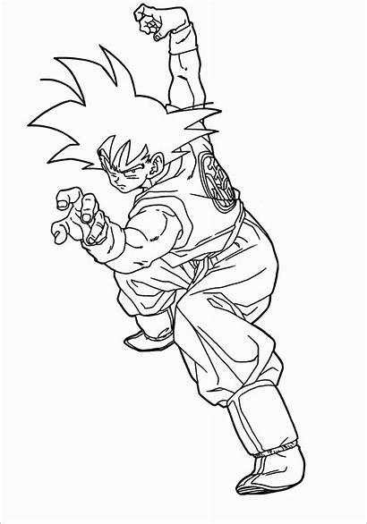 Goku Dibujos Habilidad Colorear Ball Pintar Categorias