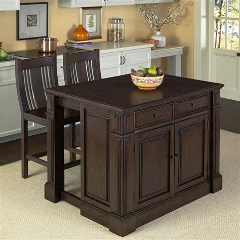 home styles grand torino black kitchen island  storage    home depot