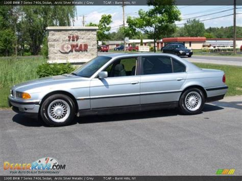 1998 Bmw 740il by 1998 Bmw 7 Series 740il Sedan Arctic Silver Metallic