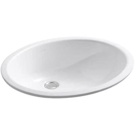 Caxton Sink Home Depot by Kohler Caxton Vitreous China Undermount Bathroom Sink In