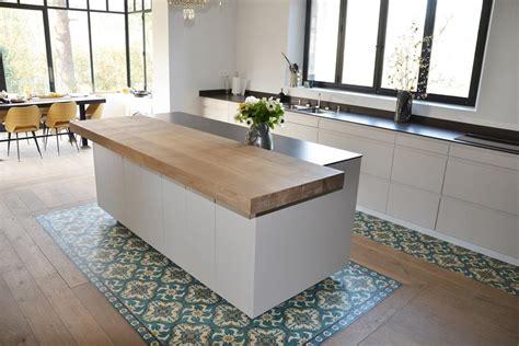 cuisine ouverte ilot central ilot central cuisine design les plus belles