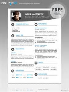 I Need A Free Resume Template Hongdae Modern Resume Template