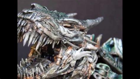 Tf4 Aoe Transformers Custom Leader Grimlock V.3 Slideshow