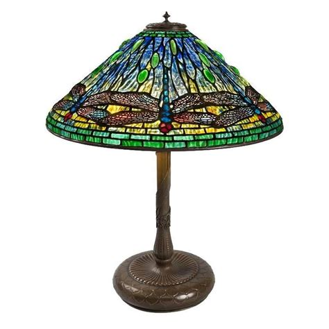 tiffany dragonfly table l tiffany studios new york quot dragonfly quot table l at 1stdibs
