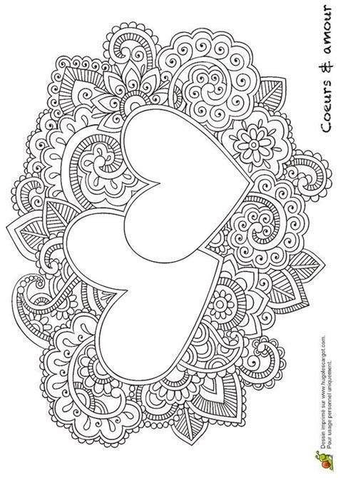 coloring pages  hearts  teenagers difficult coloring home