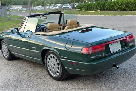 1994 Alfa Romeo Spider For Sale by 36k Mile 1994 Alfa Romeo Spider Veloce Ce For Sale On Bat