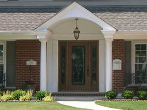 Front Porch Best Front Porch Design Using Round White