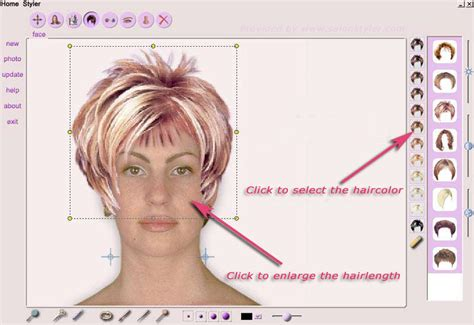 Virtual Hair Makeover