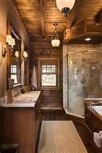 log home bathroom ideas 1000 ideas about log home bathrooms on bathroom master bath and wood vanity