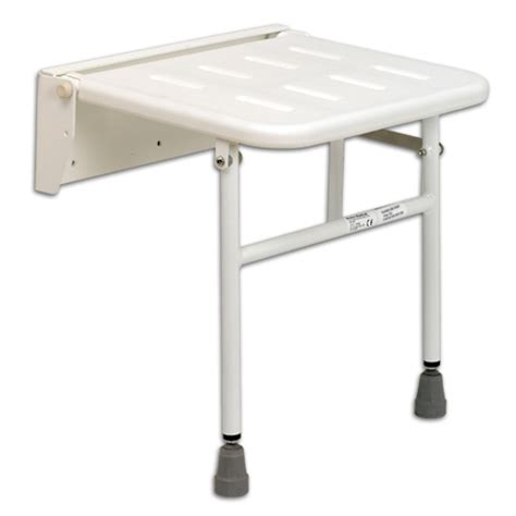 Wall Mounted Folding Shower Seat With Legs - wall mounted folding shower seat with legs wall mounted