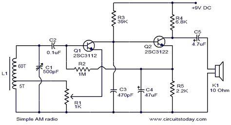 Simple Radio Circuit Diagram World