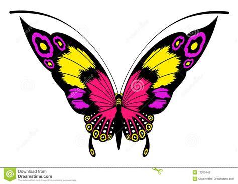 clipart farfalla farfalla per un disegno fotografie stock immagine