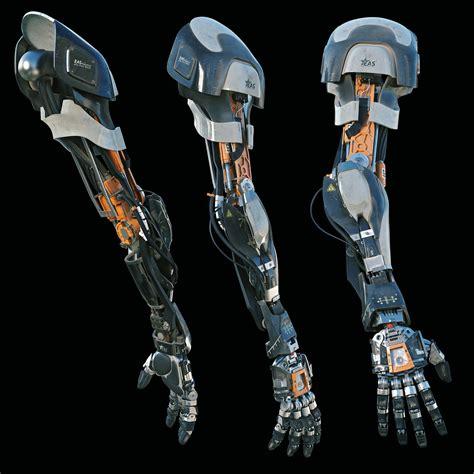 robotic arm alexey vasilyev on artstation at https www artstation com artwork robotic arm