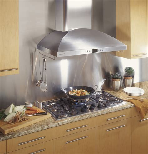 """ZV950SDSS   Monogram® 36"""" Wall Mounted Vent Hood   The"""