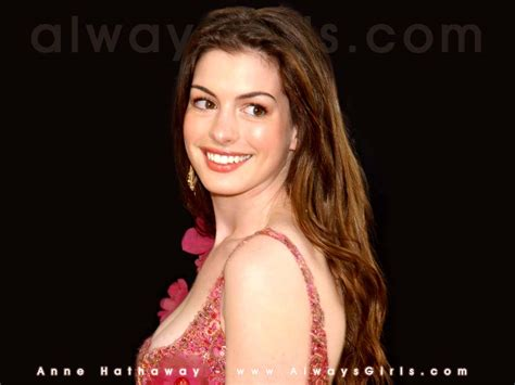 hollywood stars wallpapers anne hathaway wallpapers